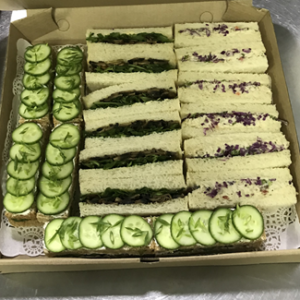Afternoon Classical English Tea Sanwiches Box-1